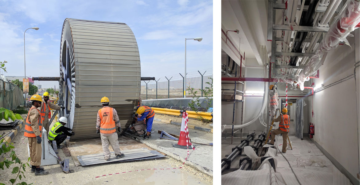 ALBA Line 6 Expansion Project - Power Distribution System